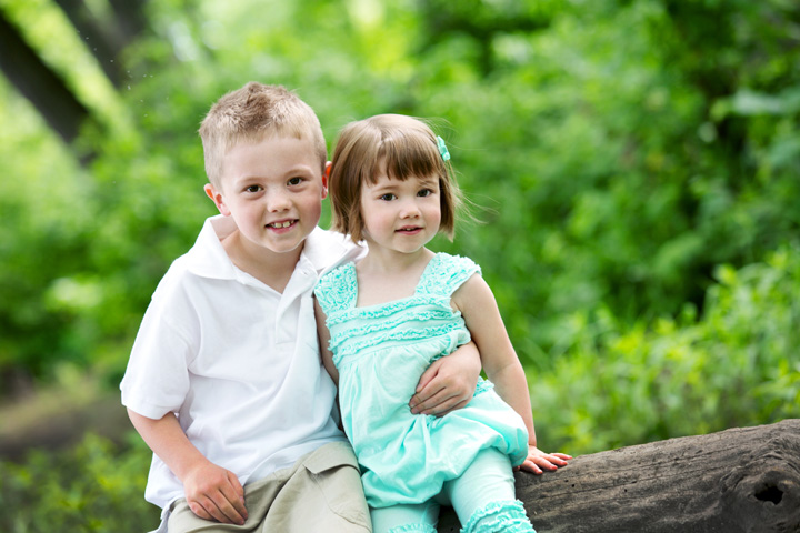 East Tennessee and Knoxville Children and family portrait photographer